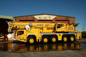 A picture of an Explorer 220 ton all terrain crane