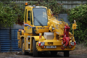 A small city crane, ideal for tight spaces