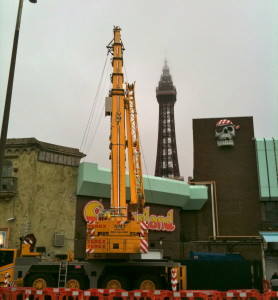 Channel 4 logo project Blackpool