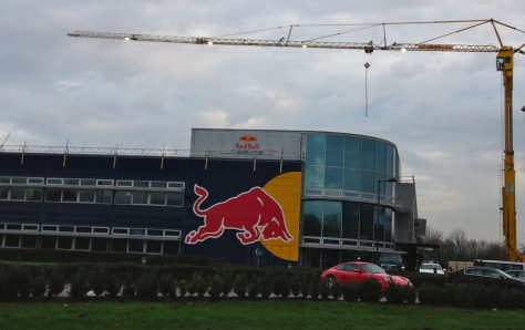 Red Bull F1 Headquarters Milton Keynes