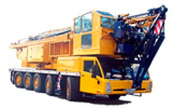 A picture of a Spierings 5 Axle mobile tower crane