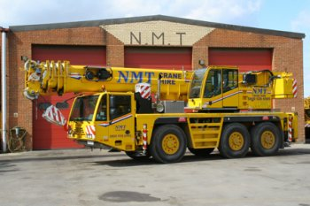 A picture of a Terex 50 Ton all terrain crane