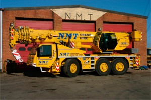 A picture of a Terex 55 Ton all terrain crane