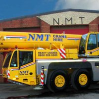 A picture of a Terex 100 Ton all terrain crane