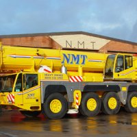 A picture of a Terex 200 Ton all terrain crane