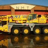 A picture of a Terex 80 Ton all terrain crane