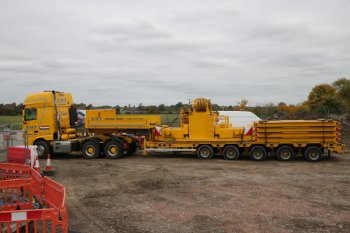 NMT Crane Hire vehicle