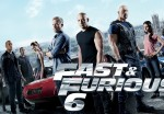 A promotional poster for Fast and Furious 6