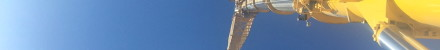 An image of someone base jumping from an NMT Crane Hire tower crane